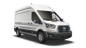 3D Ford E Transit Van L3H3 2022 model