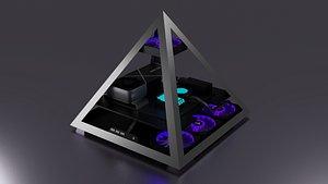 Azza pyramid 804 3D