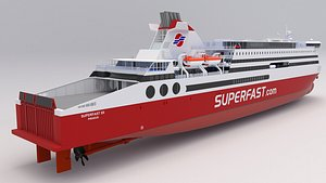 superfast xii - 3D model