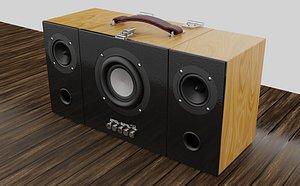 3D boombox speakers