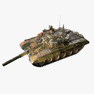 Military Tank T-90 3D model