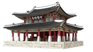 3D Korea command post model