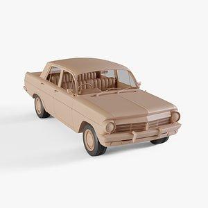 1964 Holden EH Special Sedan 3D model