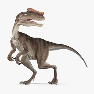 3D Proceratosaurus - Rigged and Animated model