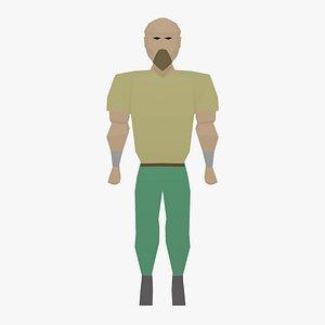 3D runescape character