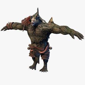 monster villain creature 3D