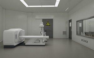 Hospital CT Room 3D