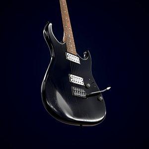 Electric guitar Homage HEG-341 3D model