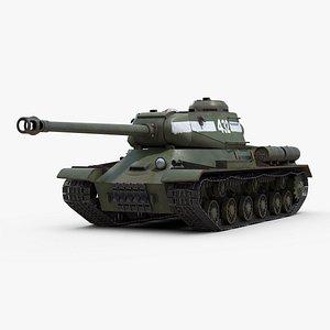 Iosif Stalin 2 Tank 3D model