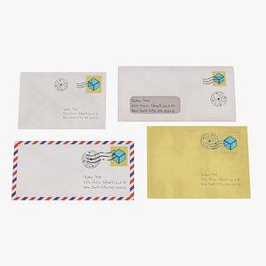 envelope used 3D model