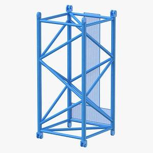 3D crane s intermediate section