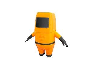 3D model protective suit