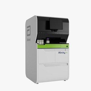 Abbott Alinity hs Slidemaker System 3D model