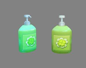 3D sanitizer