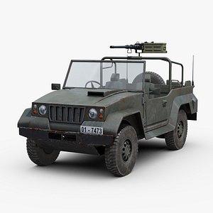 modern military jeep 3D model