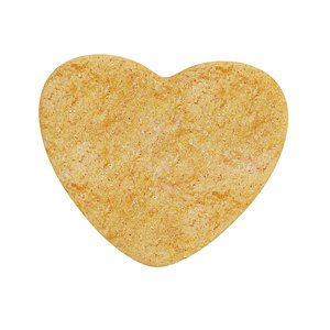 Heart-shaped cookie 3D model