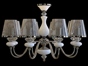 3D chandelier lights lamp