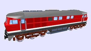 3D model dr class 232 diesel