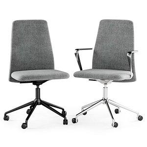 vela swivel chair 3D model