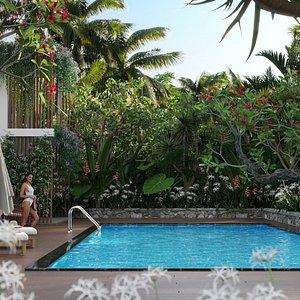 Bundle 04 – Resort plants 3D model