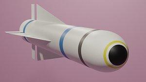 3D agm missile maverick