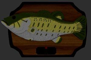 3D Singing Fish Model
