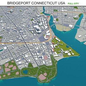 Bridgeport Connecticut USA 3D