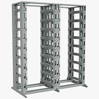 Data Server Chassis Rack