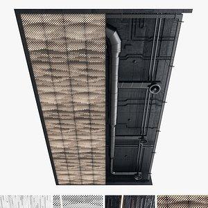 Decorative Ceiling set 02 3D