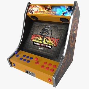 Mortal Kombat Bartop Arcade Game 3D