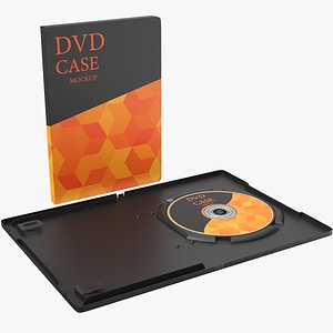 3D DVD Case Opened And Closed