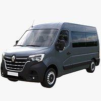 Renault Master L2H2 Passenger Van 2020
