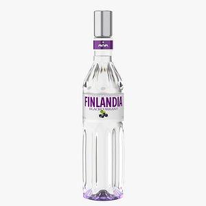 finlandia original vodka 3D