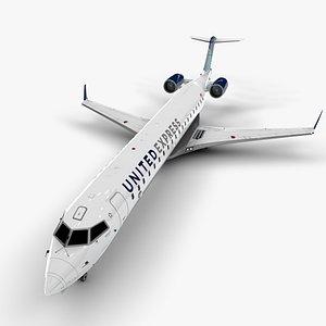 3D bombardier crj express model