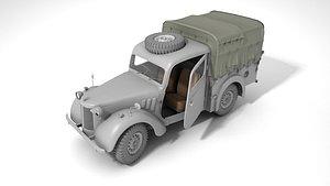 Austin HP tilly 3D model