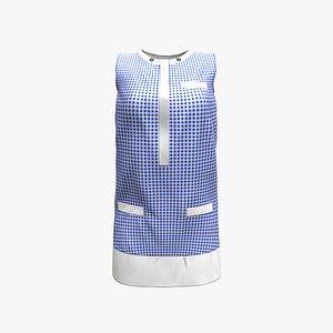 Tunic Dress 3D model