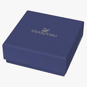 3D Swarovski Gift Box A model