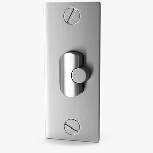 3D lock steel deadlatch model