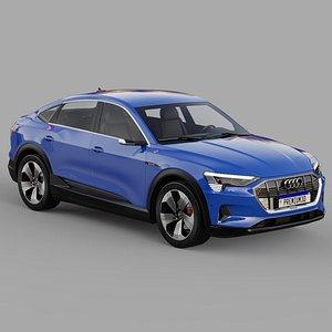 Audi E-Tron SportBack 2020 3D