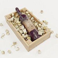 Box of sawdust