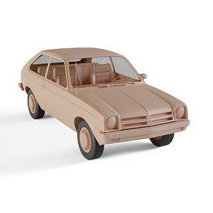 chevrolet chevette 3D model