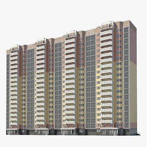 3D civil building model