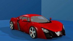 3D car-1 realistic