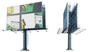 3D model Billboard