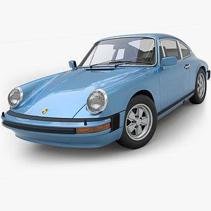 3D Porsche 911s G-serie1974