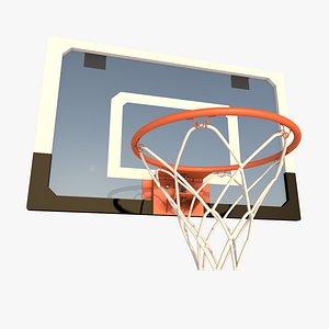 basketball hoop 3D