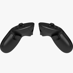 VR Controllers 3D model