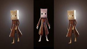 3D Little Nightmares Mono model