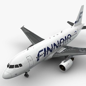 3D AirbusA319-100FINNAAIRL1440