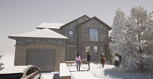 3D BIM House